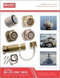 MIL-DTL-22992 QWLD Connector Catalog
