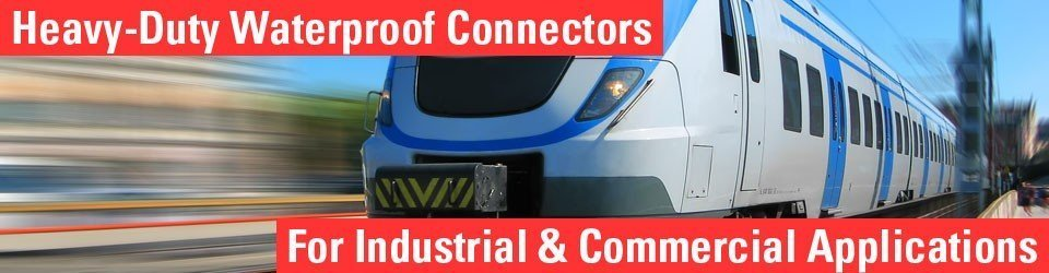 waterproof connectors for industrial applications