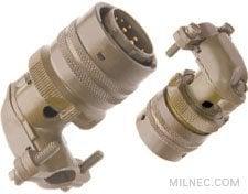 MIL 26482 90 Degree Plug