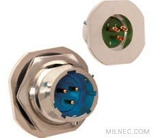 MIL 26482 Series 1 Crimp Hermetic Jam Nut Receptacle