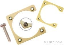 MIL 26482 Series 1 Crimp Mounting Bracket