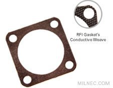 MIL 26482 Series 1 Crimp Mounting Gasket