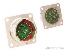 MIL-26482 Hermetic Box Mount Receptacle