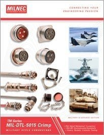 MIL-5015 Crimp Connector Catalog