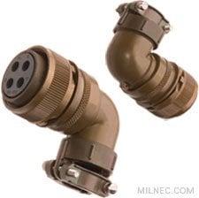 Mil-5015 Right Angle Plug