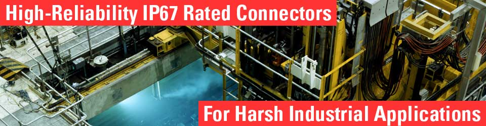 waterproof connectors for industrial applications