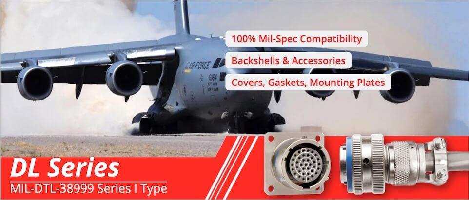 MIL-DTL-38999 Series I Connectors & Accessories