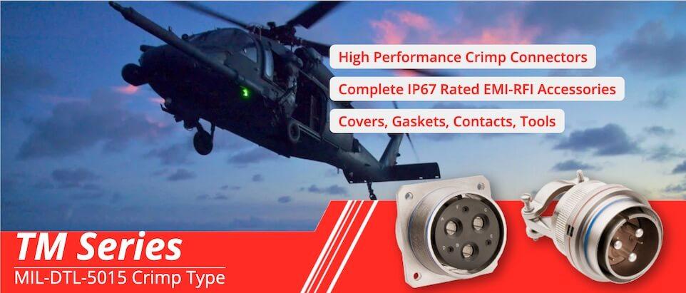 MIL-DTL-5015 Crimp Connectors & Accessories